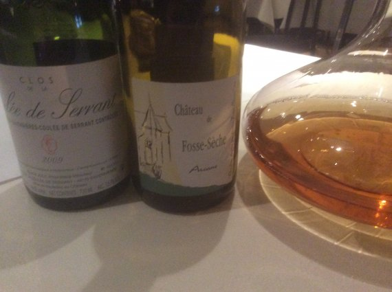 2 chenins from france